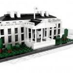 Lego architecture : La maison blanche en briques de lego
