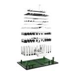 Lego architecture : La maison blanche en construction