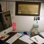Coin bureau dans un tout petit studio à Manhattan