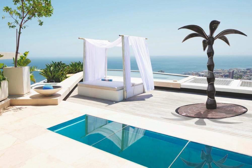 Palm shower : la douche high-tech en forme de palmier
