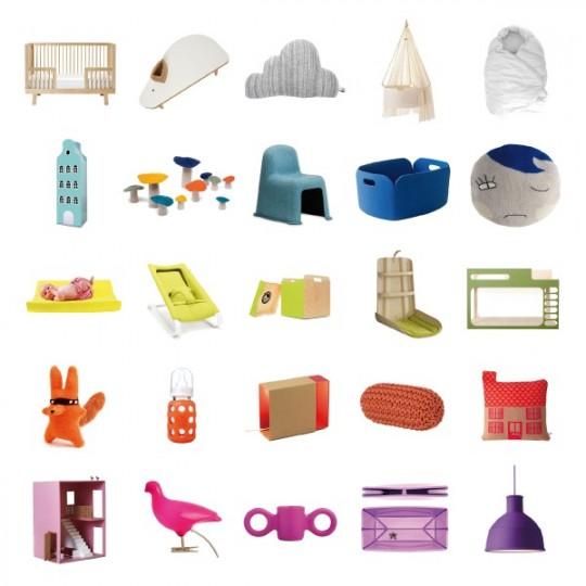 Sélection de meubles Les enfants du design