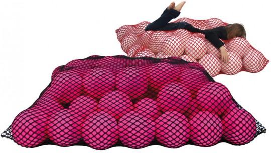 Sofa Wave édition spéciale rose Made in design - Florence Jaffrain
