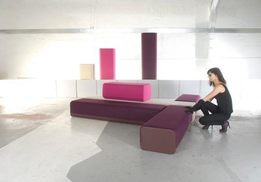 B flex, un sofa modulable à volonté