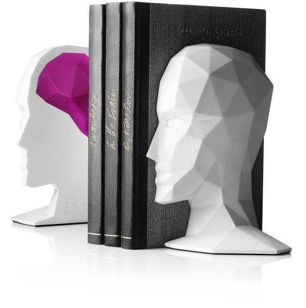 Serre-livres Knowledge in the brain par Karim Rashid
