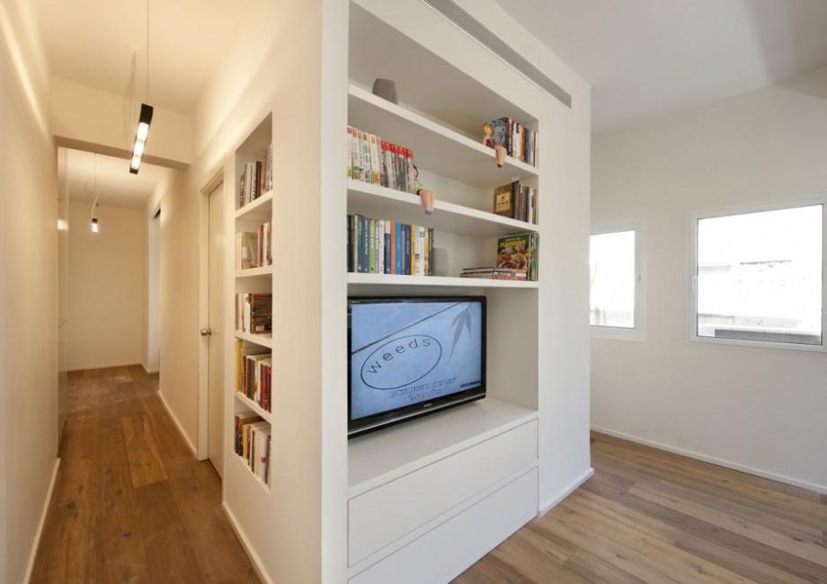 Meuble tv biblioth que r alis sur mesure - Bibliotheque meuble sur mesure ...