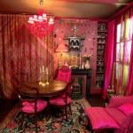 Intérieur de l'appartement Bollywood à Paris