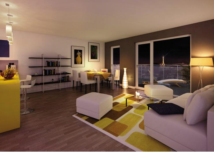 Un appartement Atypik à Issy-les-moulineaux