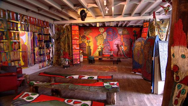 Atelier de la forge en normandie int rieur for Decoration maison normande