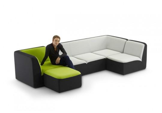 Canapé design modulaire Dunlopillo E motion