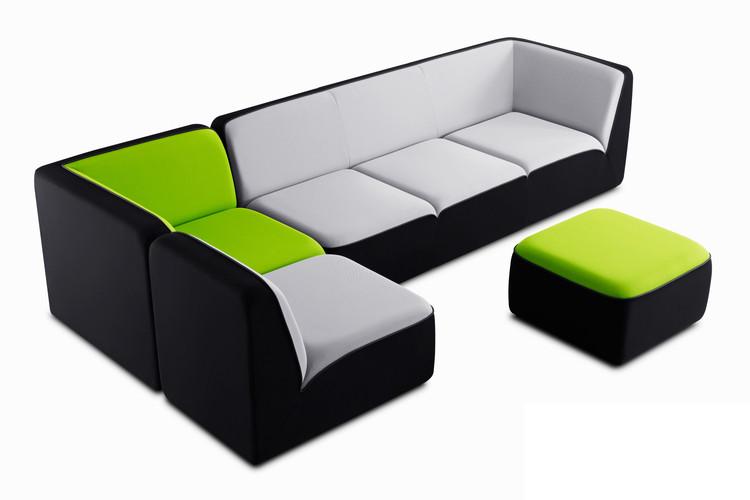 canap bicolore e motion dunlopillo. Black Bedroom Furniture Sets. Home Design Ideas