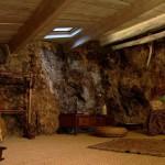 Intérieur de la maison falaise à Marseille