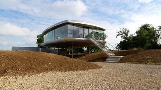 La maison futuriste en Alsace Lorraine