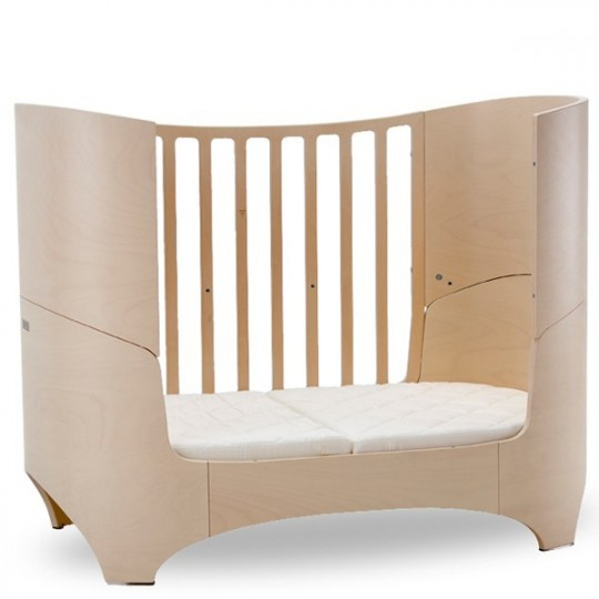 lit pour b b volutif en bois naturel leander. Black Bedroom Furniture Sets. Home Design Ideas