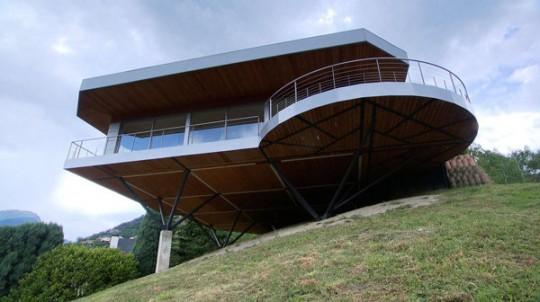 Maison hélicoptère - 3ème du concours Ma maison est la plus originale de France