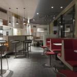 Nouveau Mac Donald's restaurant