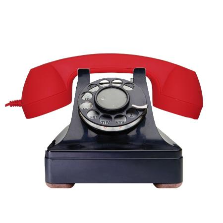 Combiné téléphonique vintage pour iPhone Groovy