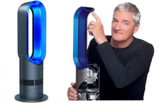 Chauffage Dyson Hot présenté par James Dyson