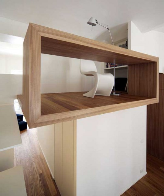 Bureau en bois minimaliste
