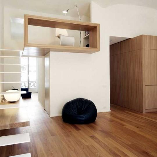 Appartement rénové dans un style moderne