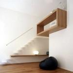 Appartement avec un escalier design