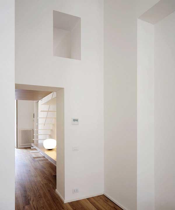 Appartement design tout blanc for Appartement design blanc