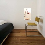 Chaise design dans un appartement contemporain