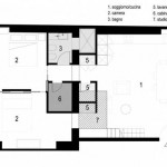 Plan du House Studio : étage