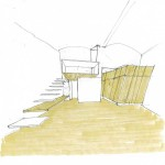 Croquis architecte, House Studio