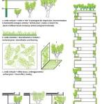Plan des tours Bosco Verticale de Stefano Boeri