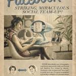 Affiche Facebook rétro vintage