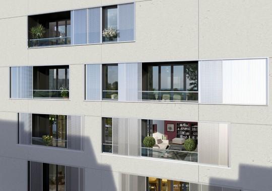 Appartement dans la résidence BBC O3, Paris 13