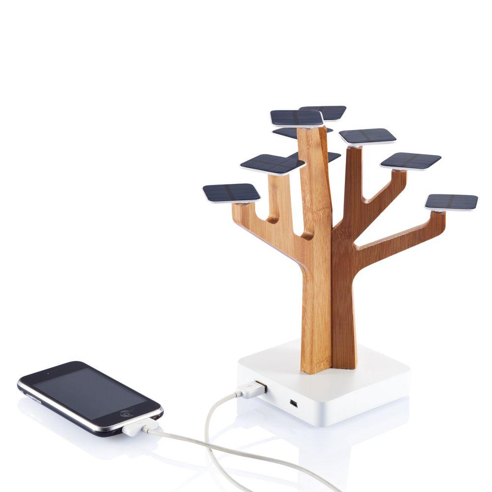 Arbre solaire pour chargeur iPhone