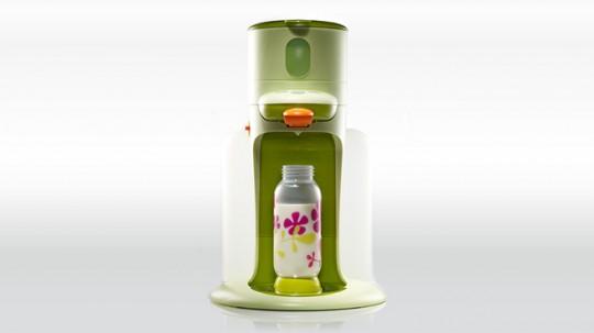 BIb'expresso, chauffe-biberon design