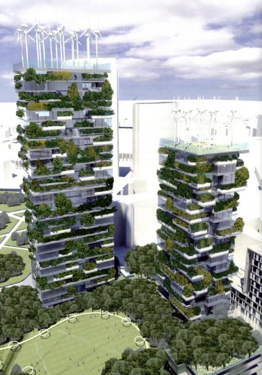 Bosco Verticale, tour écologique par Stefano Boeri