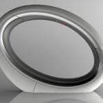 Eclipse phone : téléphone fixe en forme d'anneau