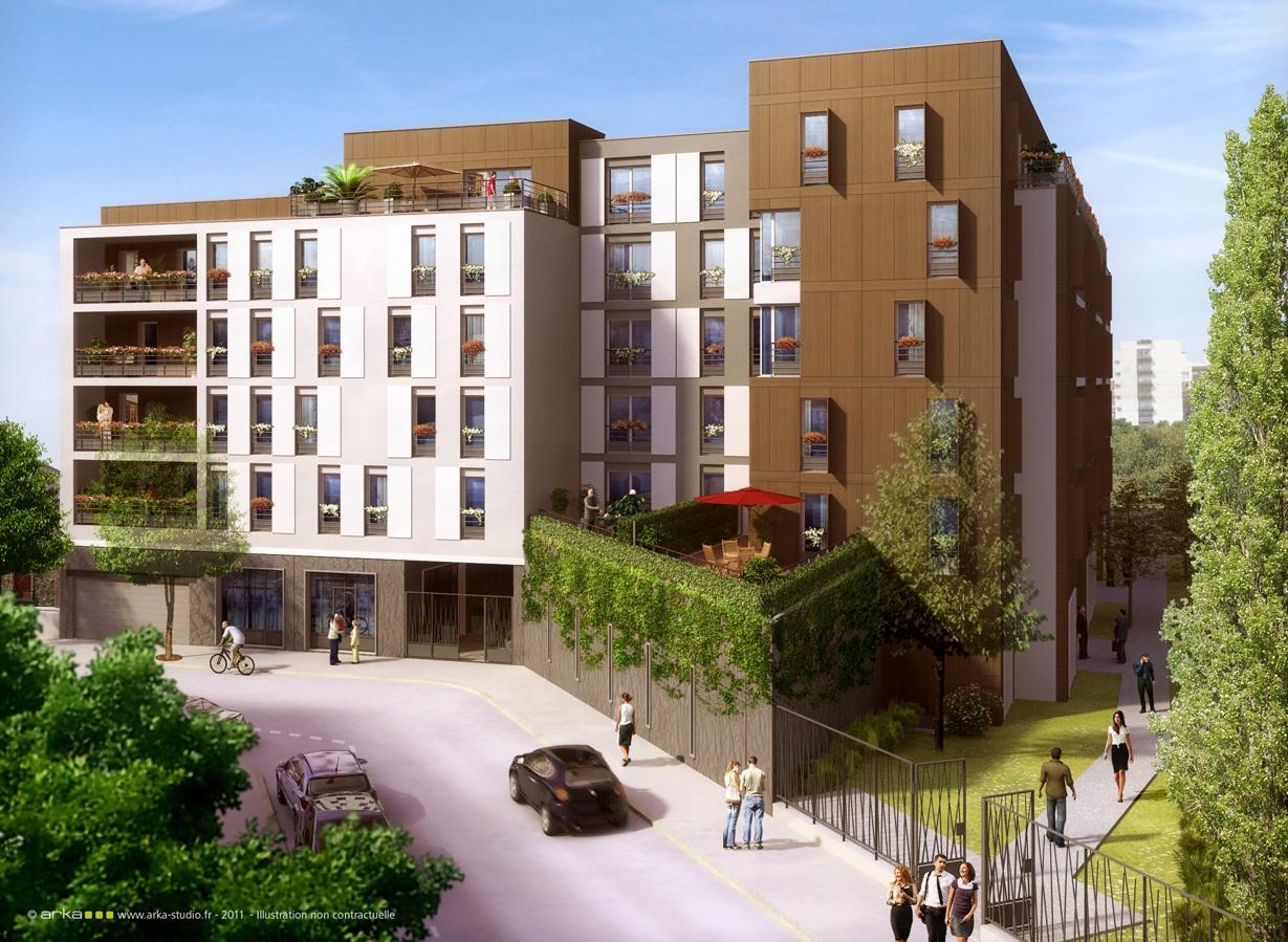 Green 18, résidence neuve à Bagnolet