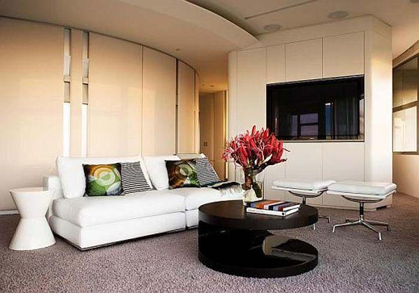 id e de d coration originale pour un petit appartement. Black Bedroom Furniture Sets. Home Design Ideas