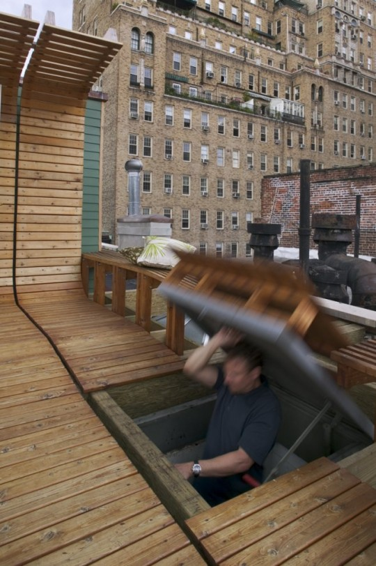 trappe d 39 acc s au toit terrasse. Black Bedroom Furniture Sets. Home Design Ideas