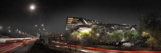 La Philarmonie à Paris, architecte Jean Nouvel