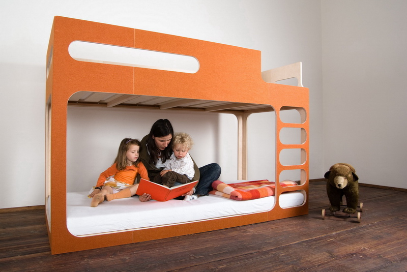 Lits superpos s design pour enfants amber in the sky perludi - Lits superposes design ...