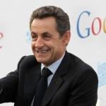 Inauguration des bureaux de Google France par Nicolas Sarkozy