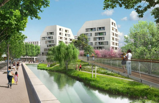 Nouveau quartier Rungis à Paris