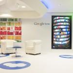 Espace Google livres au siège de Google à Paris