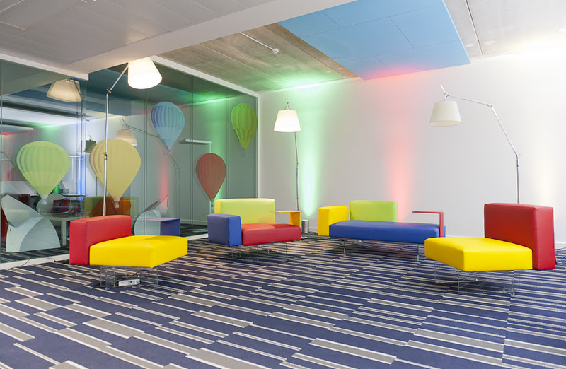 Les premières photos du siège de Google France dans un hôtel particulier à Paris