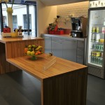 La cuisine au siège de Google France à Paris