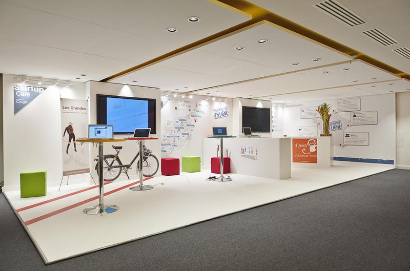 startup caf espace d tente au si ge de google paris. Black Bedroom Furniture Sets. Home Design Ideas