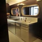 La cuisine design dans les nouveaux bureaux de Google à Paris