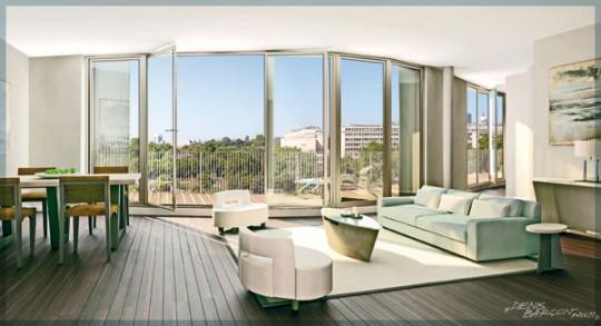 Appartement dans la résidence Nouvelle Vague (Paris IV)