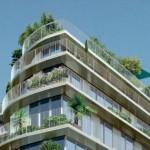Appartement avec balcon de la résidence Nouvelle Vague