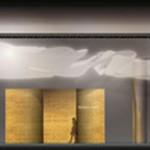 Nouvelle Vague, : Hall d'entrée avec une sculpture monumentale